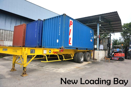 New Loading Bay